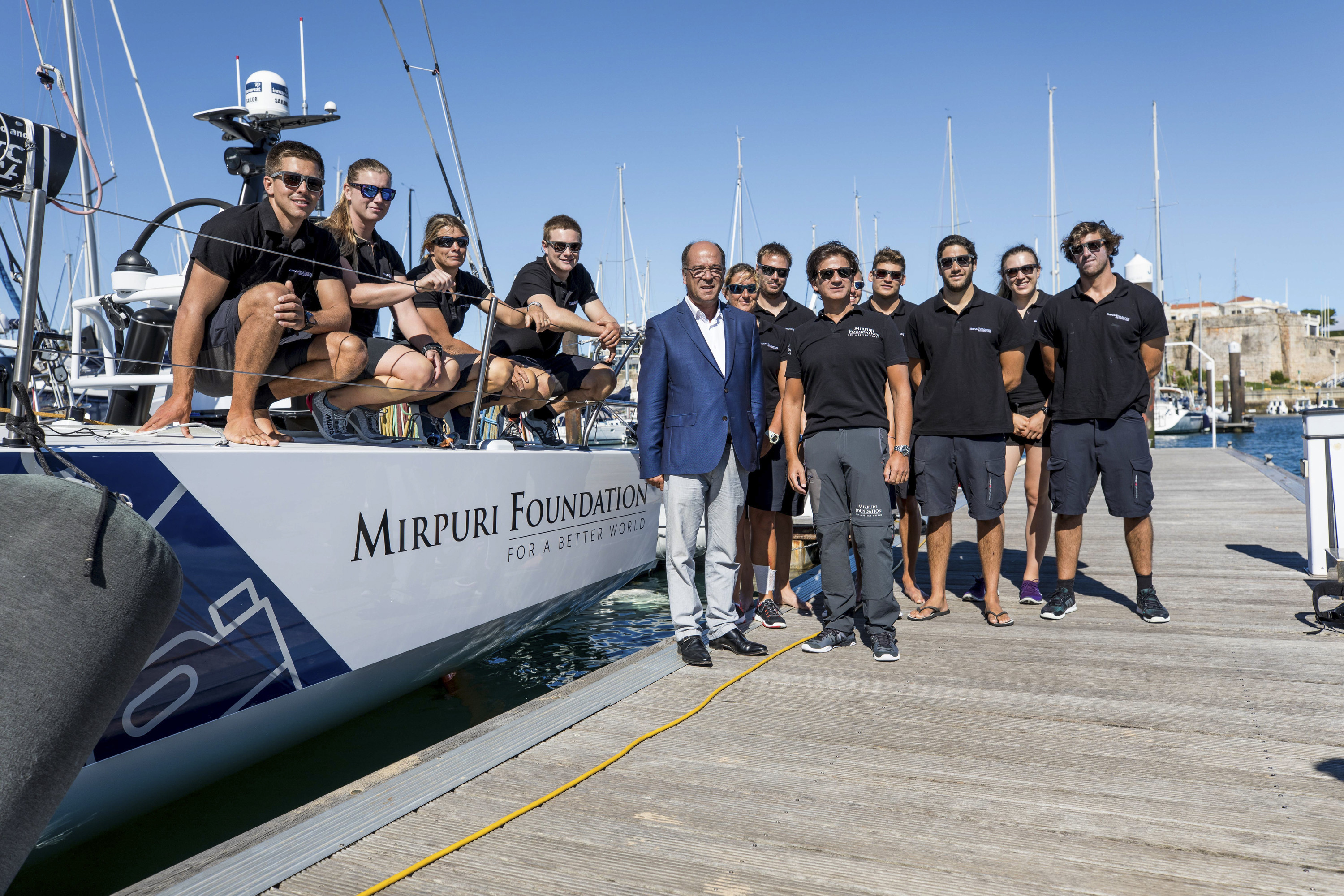 Leg Zero, Turn The Tide on Plastic in Cascais: Corporative Sailing and Inshore training Ugo Fonolla/Volvo Ocean Race