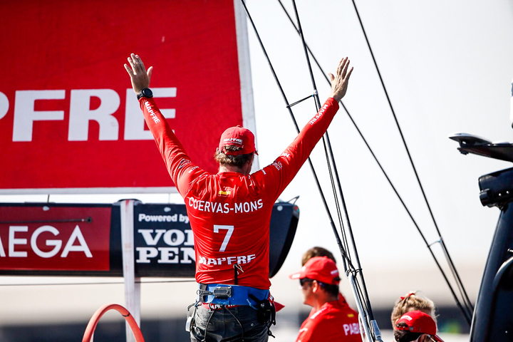 Alicante stopover. MAPFRE In-Port Race Alicante. Photo by Pedro Martinez/Volvo Ocean Race. 14 October