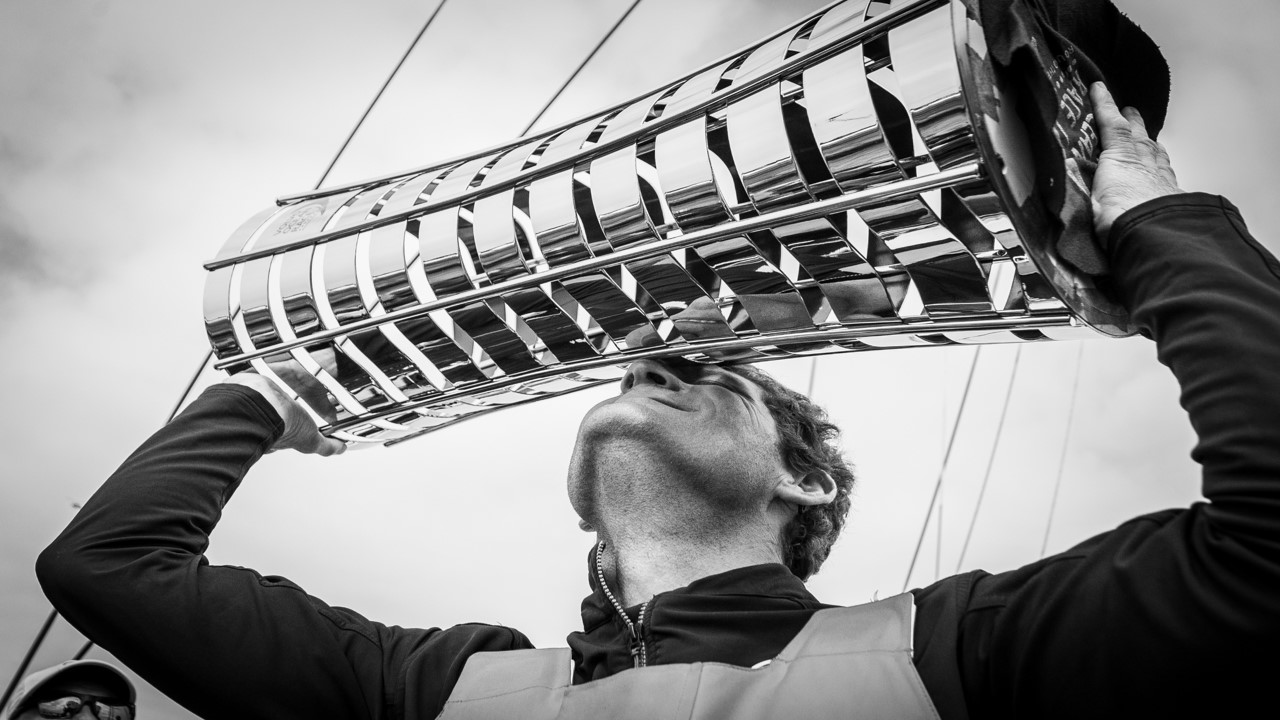 French skipper Charles Caudrelier has been part of the OC Sport managed Dongfeng Race Team project since the project was created in 2013./© Eloi Stichelbaut/Dongfeng Race Team