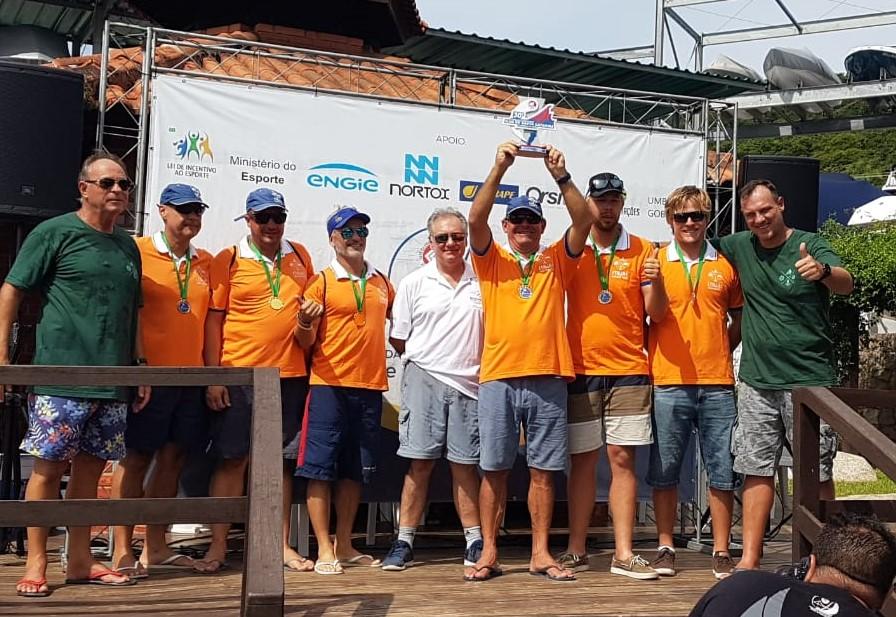 No Circuito Oceânico da Ilha de Santa Catarina o time foi comandado pelo velejador olímpico Marcelo Gusmão Reitz, o capitão do IST /Foto: IST/Divulgação