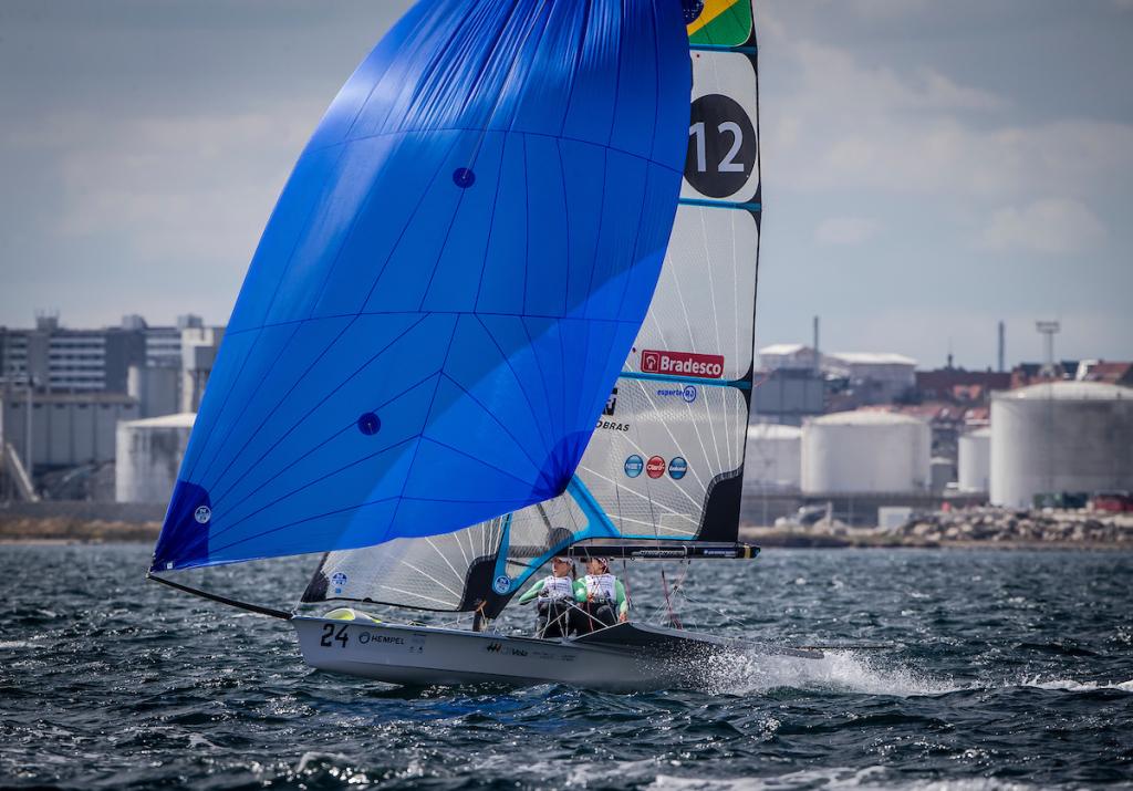 Martine Grael e Kahena Kunze/Foto: Jesus Renedo/ Sailing Energy