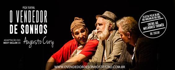 Espetáculo retorna a São Paulo, dia 28 de março, com Luiz Amorim e Matheus Carrieri/Divulgação