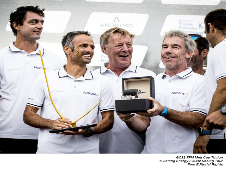 Franck Cammas and NORAUTO return as defending champions of the GC32 Racing Tour. Photo: Sailing Energy / GC32 Racing Tour