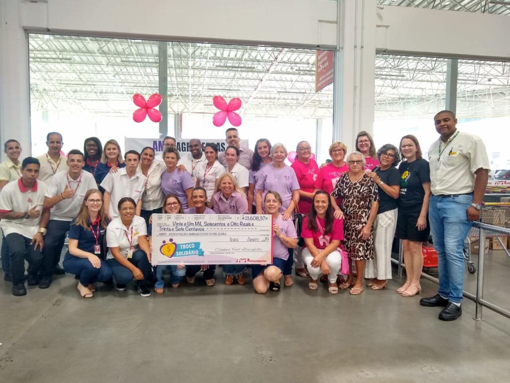 O último semestre de 2018 foi um verdadeiro sucesso nas arrecadações de doações voluntárias através do projeto Troco Solidário do Fort Atacadista